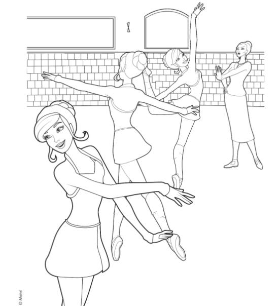 barbie high heels coloring pages - photo#31