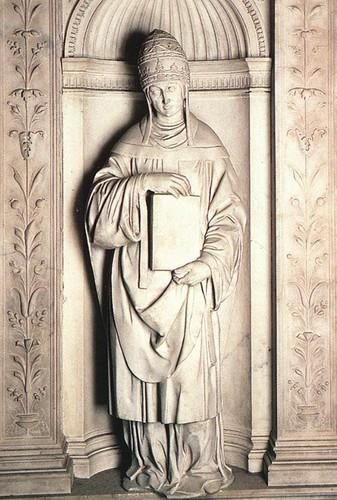 Pius 의해 Michelangelo , (1501-1504)