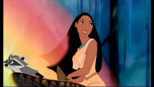 Belle and Pocahontas wallpaper probably with a concert called Pocahontas
