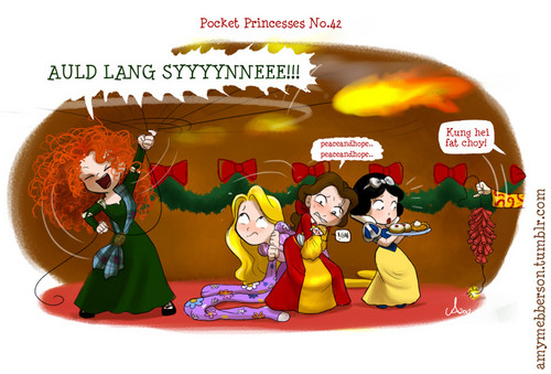 Pocket Princesses 42 (Late Merry Christmas)