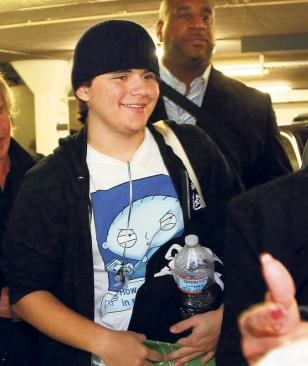 Prince Jackson in Germany 2013