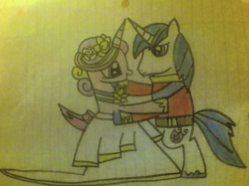 Princess Cadence and Shining Armor - my-little-pony-friendship-is-magic Fan Art
