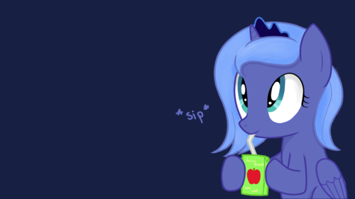 Princess Luna (Apple juice)