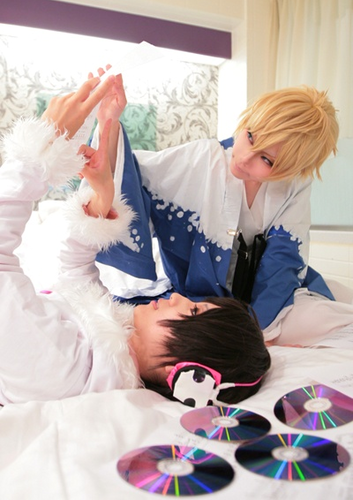 Psyche & Tsugaru cosplay