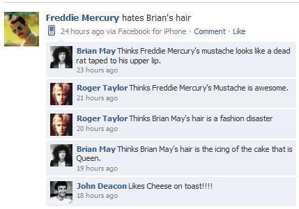 Queen FB hahaha