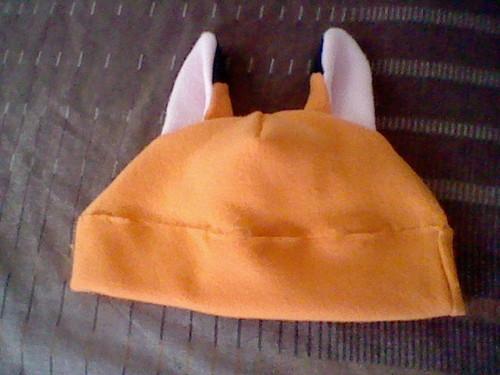 Red лиса, фокс Hat Kitten Ears