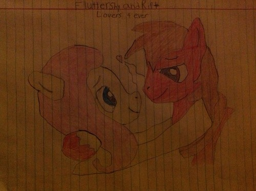 Rift (me)and Fluttershy yay!