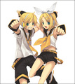 Rin and Len kagamine - vocaloids photo