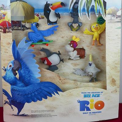 Rio display mcdonalds