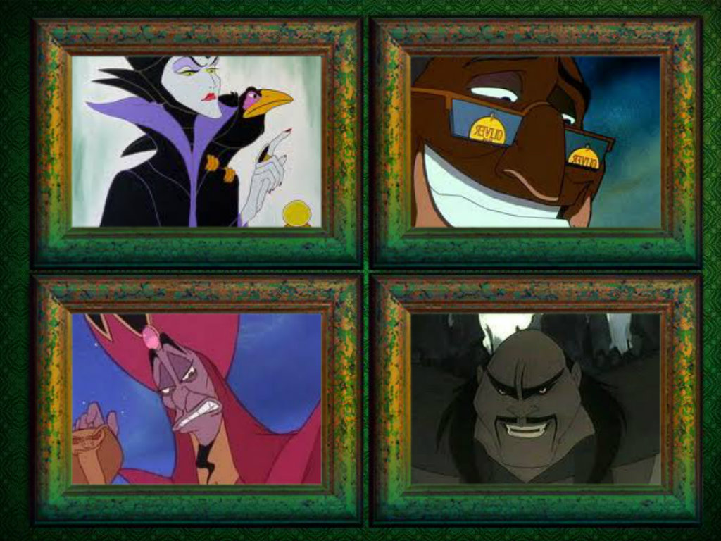 Rogues Gallery (Disney Style)