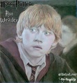 Rupert Grint-Ron Weasley-Harry Potter - fanart fan art