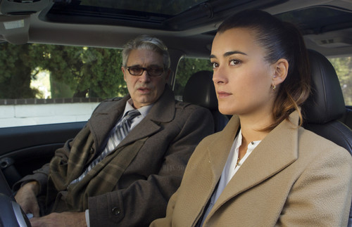 Cote de Pablo fond d'écran containing a business suit entitled S10E11 Shalom Shabbat Episode Stills