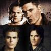 Sam & Dean // Stefan & Damon Icon ♥