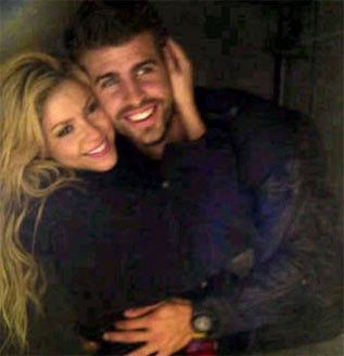shakira and Pique <3