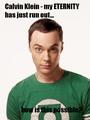 Sheldon Cooper - Calvin Klein