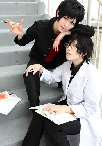 Shinra & Izaya cosplay