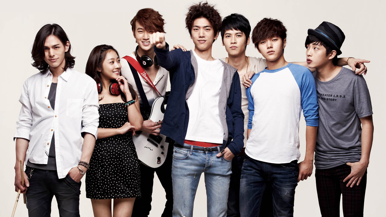 Korean Dramas Shut Up Flower Boy Band