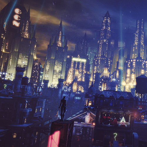 Batman Arkham City Images Skyline Catwoman Wallpaper And Background Photos
