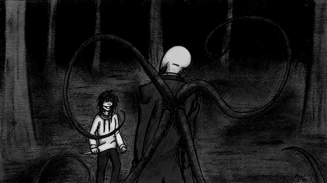 Slender Man vs Jeff the Killer