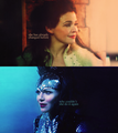 Evil Queen&Snow White - once-upon-a-time fan art