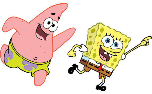 Spongebob Squarepants wallpaper possibly with anime entitled Spongebob & Patrick
