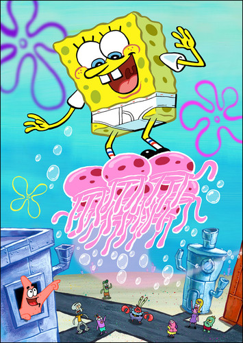 Spongebob Squarepants wallpaper possibly containing anime called Spongebob