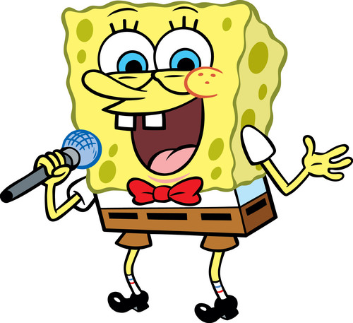 Spongebob Squarepants wallpaper with anime entitled Spongebob