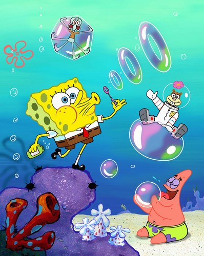 Spongebob Squarepants achtergrond with anime entitled Spongebob