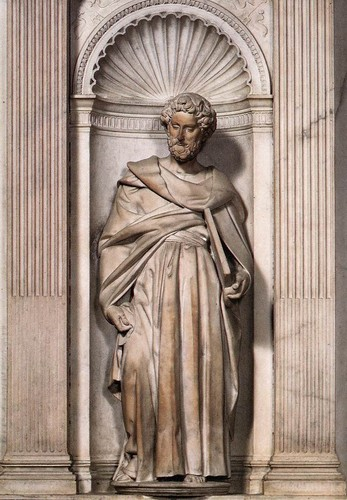 St. Paul by Michelangelo , 1504