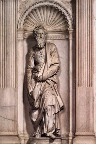 St. Peter by Michelangelo, 1504