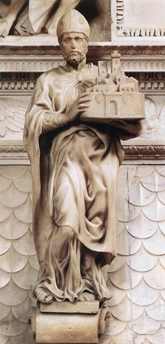 St. Petronius (1494–1495) 의해 Michelangelo