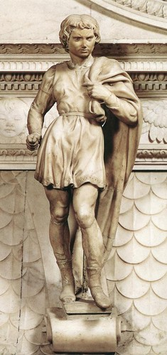St. Proclus (1494–1495) por Michelangelo