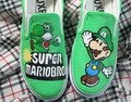 Super Mariobros customized shoes - super-mario-bros photo