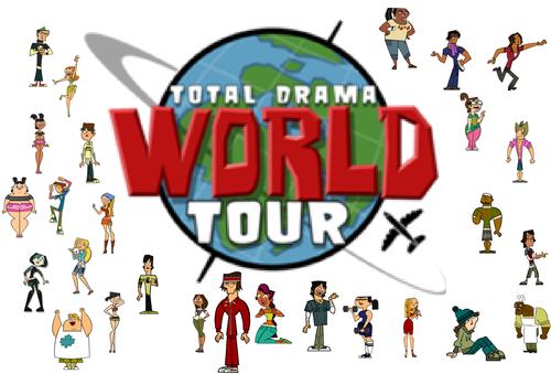 Total Drama World Tour দেওয়ালপত্র possibly with জীবন্ত called TDWT