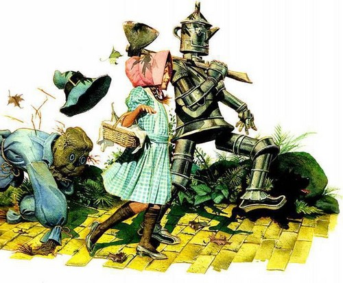 Fairy Tales & Fables karatasi la kupamba ukuta with anime titled THE WİZARD OF OZ