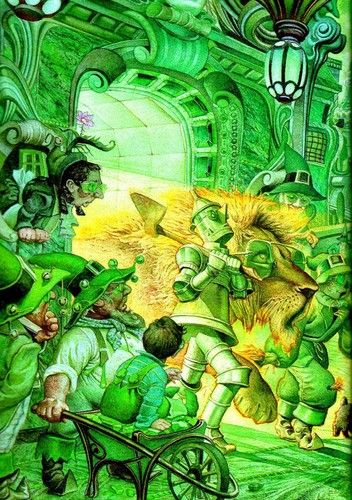 Fairy Tales & Fables wallpaper probably with anime called THE WİZARD OF OZ