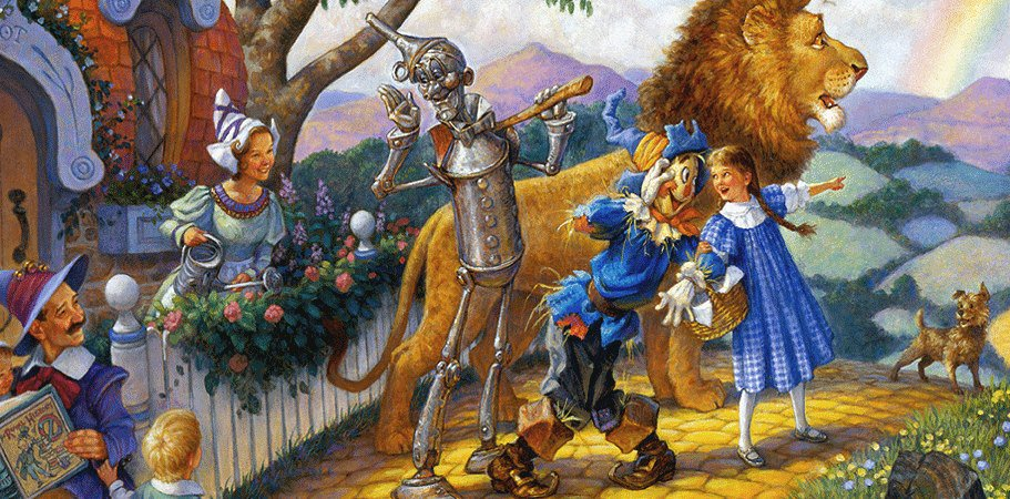 Fairy Tales Amp Fables Images The Wİzard Of Oz Wallpaper And