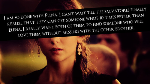 TVD confessions