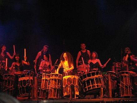 Taiko percussion ensemble