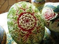 Thai Fruit Carvings - fruit photo