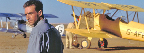 The English Patient wallpaper with a biplane titled The English Patient