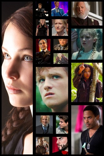 The Hunger games Collage