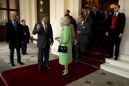 The President Of Turkey Abdullah Gul Prepares To Leave After A 5 hari State Visit To The UK