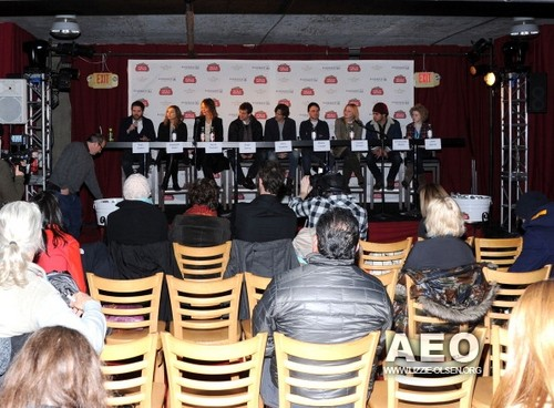 The Stella Artois Cafe At The Samsung Galaxy Tab Lift - jour 2 - 2011 Park City (January 22, 2011)