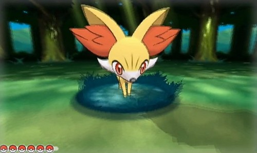 Starter pokemon Club! images Fennekin, one of the new starters from Pokemon X/Y wallpaper and background photos