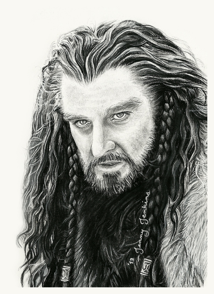 How To Draw Thorin Oakenshield In Pencil Step 8  HD Walls  Find