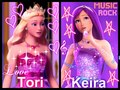 Tori and Keira - barbie-the-princess-and-the-popstar fan art