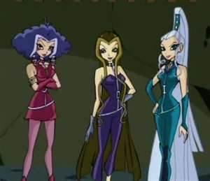 winx The Trix Hintergrund probably with Anime entitled Trix