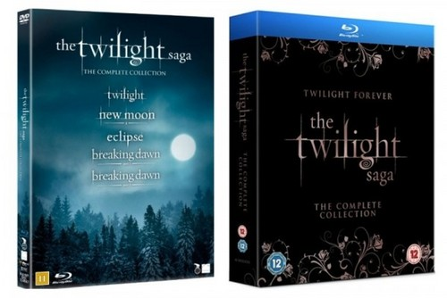 Twilight Saga Complete DVD / Blu-ray
