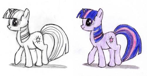 Twilight that I drawn